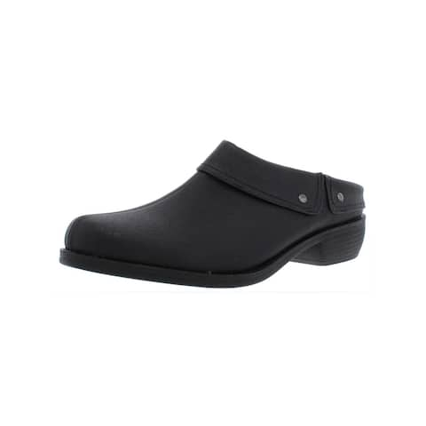 Easy Street Womens Becca Mules Casual Flats