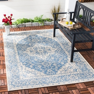 Link to Safavieh Beach House Sybilla Indoor/ Outdoor Rug Similar Items in Transitional Rugs