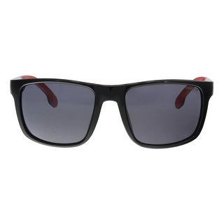 Carrera CARRERA 8027/S 0807 Black Rectangle Sunglasses - 57-19-135