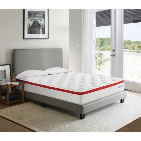 "Nautica Home 10"" Harmony Medium Firm Hybrid Mattress"