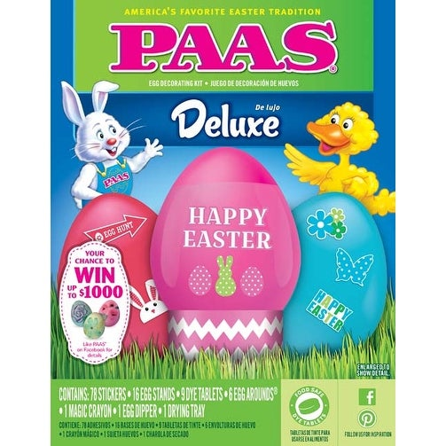 Shop Deluxe Paas Egg Dye Kit Free Shipping On Orders Over 45