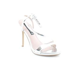 Steven by Steve Madden Rees Women's Heels Silver - 7.5