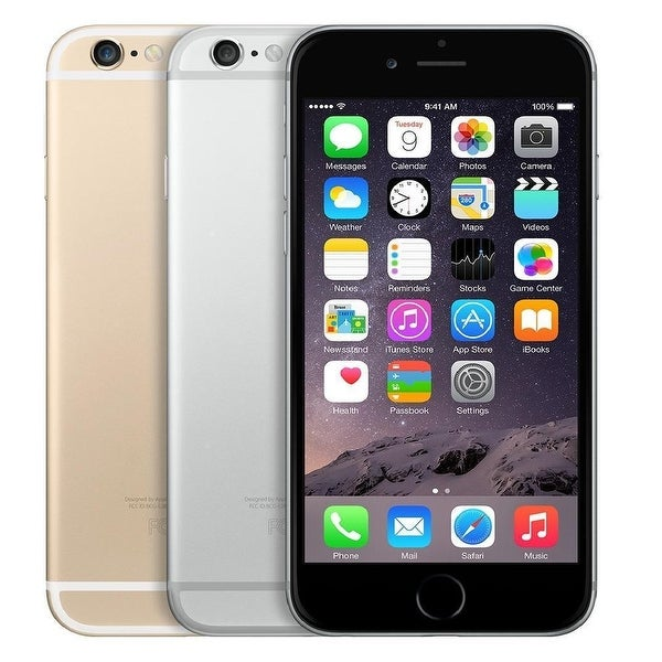 Apple iPhone 6 Plus 16GB Unlocked GSM Phone w/ 8MP Camera (Certified Refurbished)