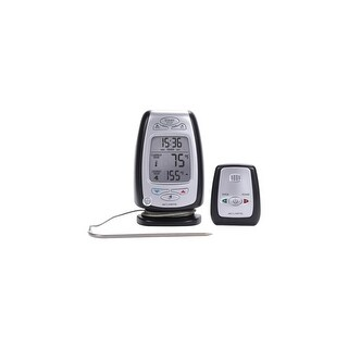 AcuRite 03168A1 AcuRite Digital Meat Thermometer & Timer with Pager 03168 - Fahrenheit, Celsius Reading - Timer, Alarm - For