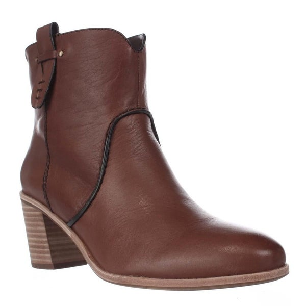 G.H. Bass & Co. Sophia Western Ankle Booties, Whiskey
