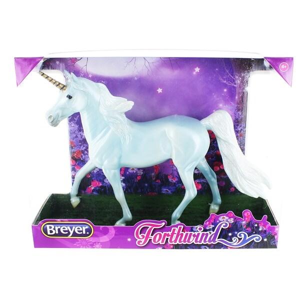 Breyer 1:12 Classics Model Horse: Forthwind Unicorn - multi