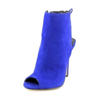 Chinese Laundry Jinxy Open-Toe Suede Bootie