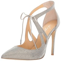 Daya by Zendaya Womens Aaron Pointed Toe Ankle Strap Classic Pumps