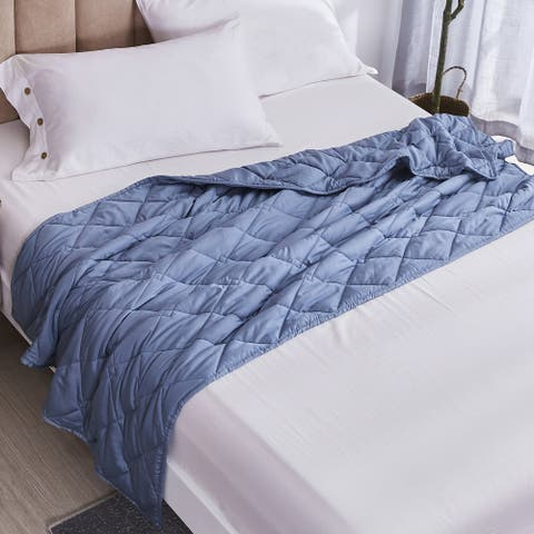 Eco-Friendly Tencel Weighted Throw Blanket 10, 12 & 15 lb