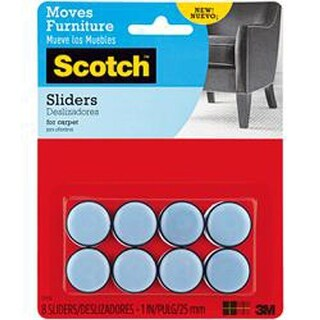 8/Pkg - Scotch Self-Stick Sliders 1""
