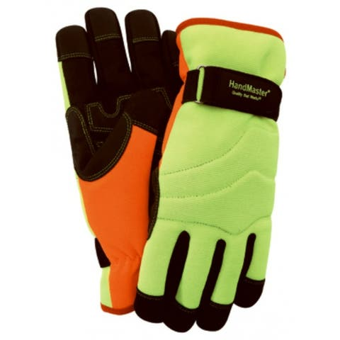 Magid PGP89TXL HandMaster High-Visibility Winter Glove, Extra Large