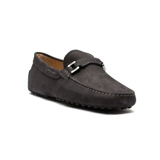 Tod's Men's Suede Mocassino Moda Bosto Loafer Shoes Brown