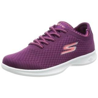 Skechers Go Step Lite Dashing Womens Sneakers Purple/Pink 9