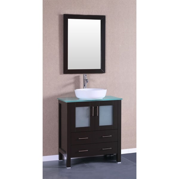 Shop Bosconi A130bwlcwg 30 Quot Free Standing Vanity Set With