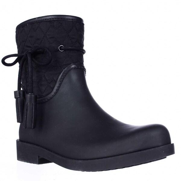 Jessica Simpson Racyn Mid Calf Rain Boots, Black