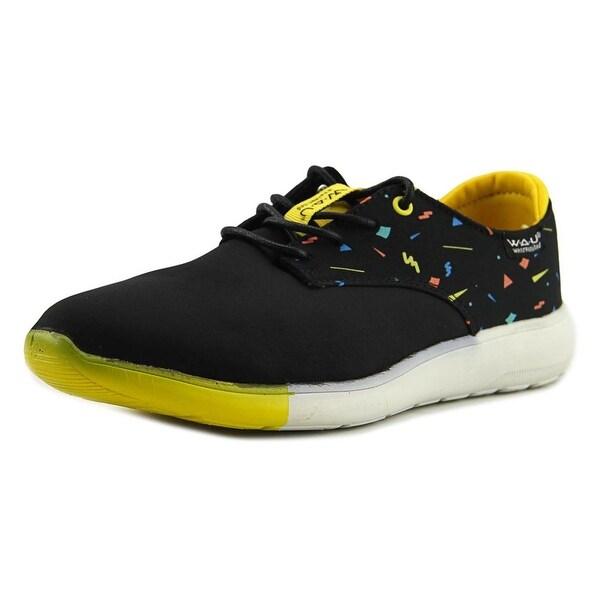W.A.U WS96007 Women Black/Black Sneakers Shoes