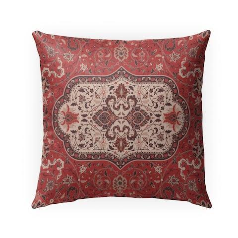 EMPIRE RED Indoor-Outdoor Pillow By Marina Gutierrez