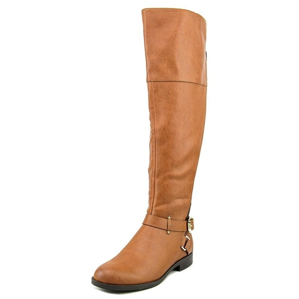 Bar III Dolly Round Toe Synthetic Knee High Boot