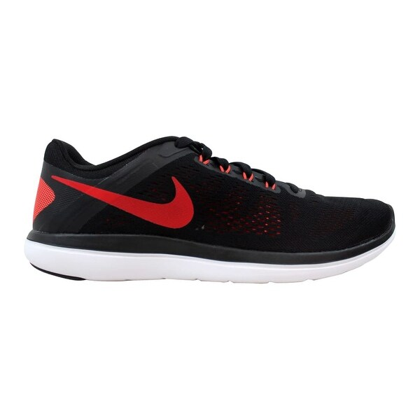 Shop Nike Flex 2016 RN BlackUniversity Red Men's 830369 011