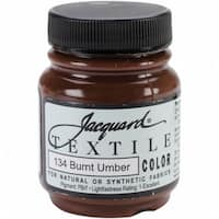 Jacquard Textile Color Fabric Paint 2.25oz-Burnt Umber