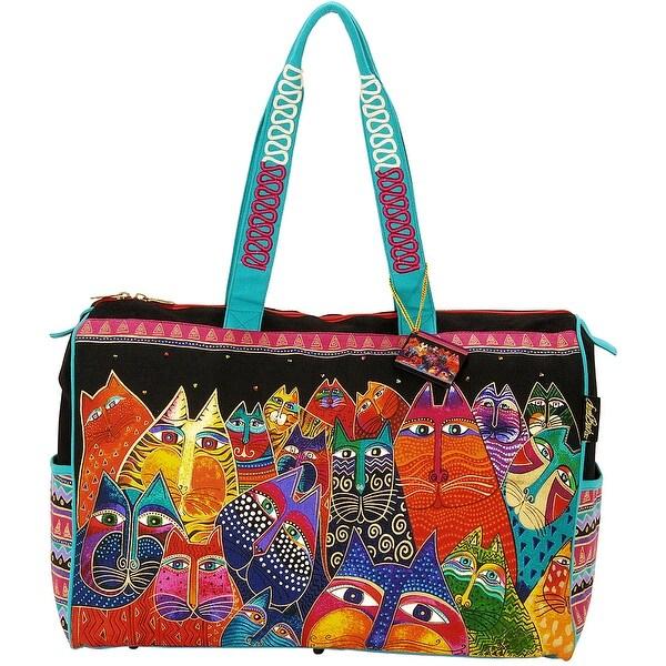 """Travel Bag Zipper Top 21""""X8""""X16""""-Fantasticats"""