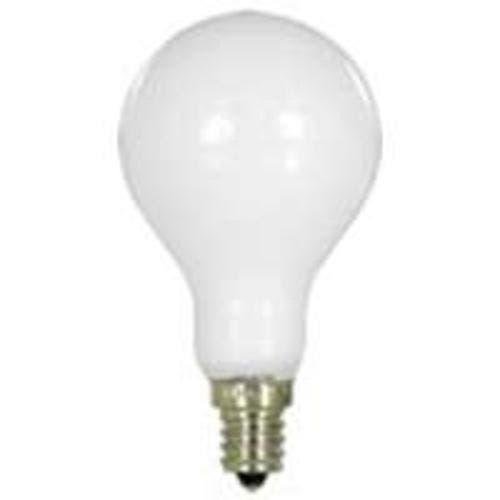 Shop Feit Electric Bp60a15c W Cf Ceiling Fan Light Bulbs Candel Base 60w White Overstock 14776633