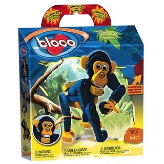 Bloco - Primates of the World Chimpanzee