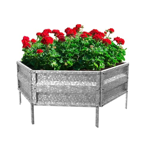 Nature Spring Raised Garden and Flower Bed Kit