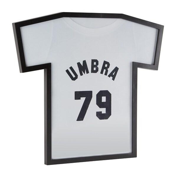 "Umbra 315200 T-Frame 19 1/2"" Wide Plastic Specialty Frame by Caleb Ferris - Black"