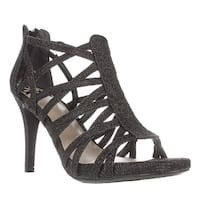 Fergie Hattie Strappy Dress Sandals, Black