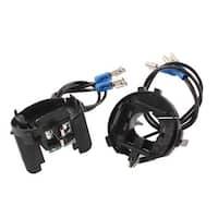 Unique Bargains 2 Pcs H7 HID Xenon Headlight Bulb Holder Conversion Adapter for Golf 7