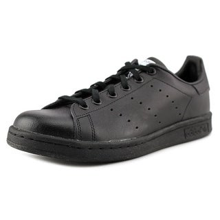 Adidas Stan Smith J Youth Round Toe Leather Sneakers