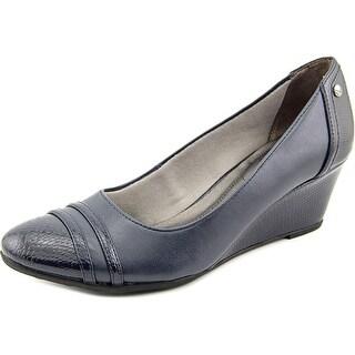 Life Stride Juliana N/S Open Toe Synthetic Wedge Heel