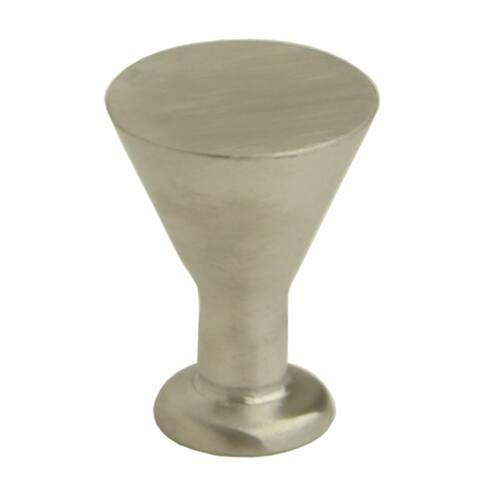 """Giagni KB-19 -3/4"""" Diameter Mushroom Cabinet Knob - - Stainless Steel"""