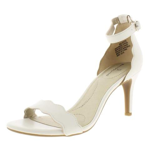 Bandolino Womens Jeepa Dress Sandals Padded Insole Heels