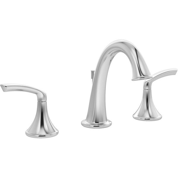 Symmons SLW-5512-1.0 Elm 1 GPM Widespread Bathroom Faucet with Pop-Up Drain Assembly