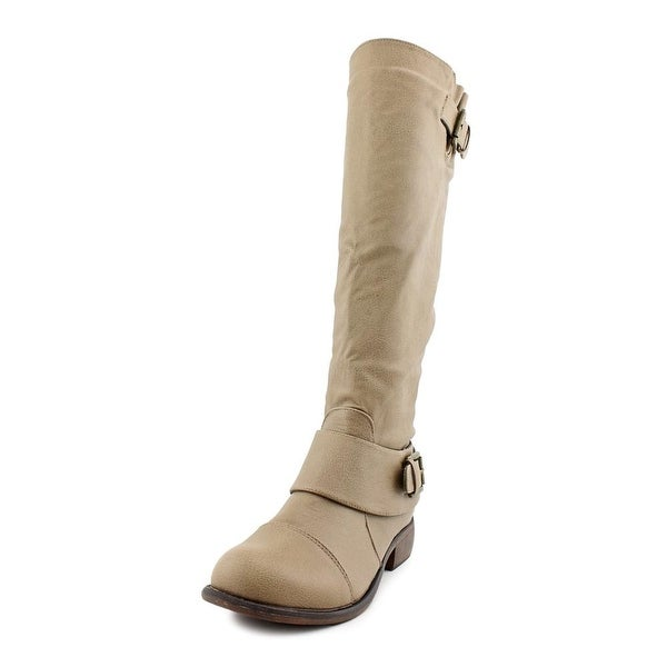 Dirty Laundry City Slicker Round Toe Synthetic Knee High Boot