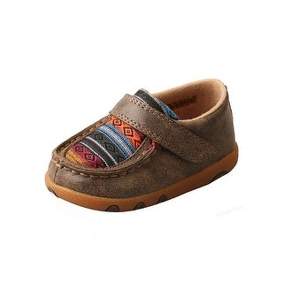 Twisted X Casual Shoes Boys Leather Infant Bomber Serape Multi