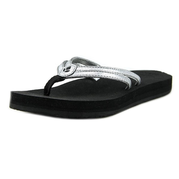Reef C-16 Open Toe Leather Thong Sandal