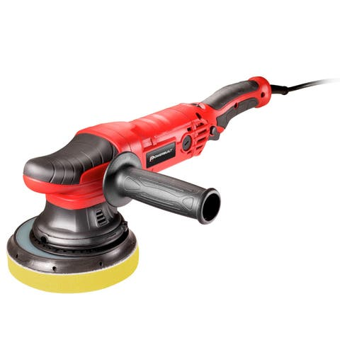 "Powerbuilt 6"" DA Orbital Long Throw Polisher 7A Variable Speed Constant  240053"