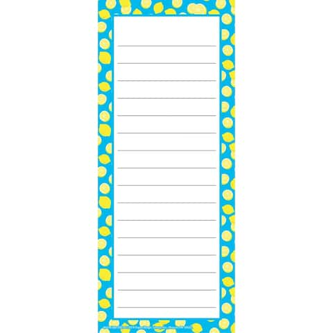 "Always Try Your Zest Note Pad, 3 1/2"" x 8 1/2"", 50 Sheets, Pack of 12 - One Size"