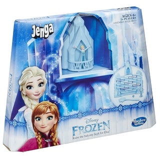 Disney Frozen Edition Jenga Game - multi