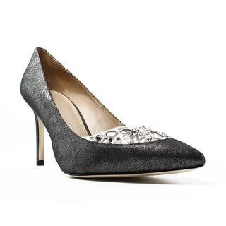 f46711013036 Tory Burch Womens Delphine Gray Pumps Size 7.5