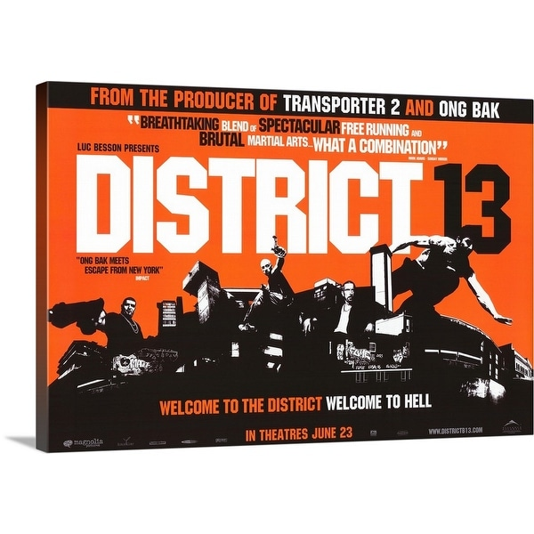 Solid-Faced Canvas Print entitled District B13 (2004)