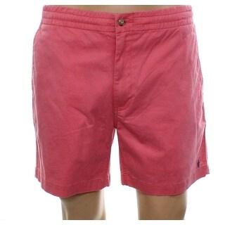 Polo Ralph Lauren NEW Pale Red Mens Size 2XL Khakis Button-Front Shorts