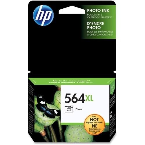 HP 564XL High Yield Photo Original Ink Cartridge (CB322WN)(Single Pack)