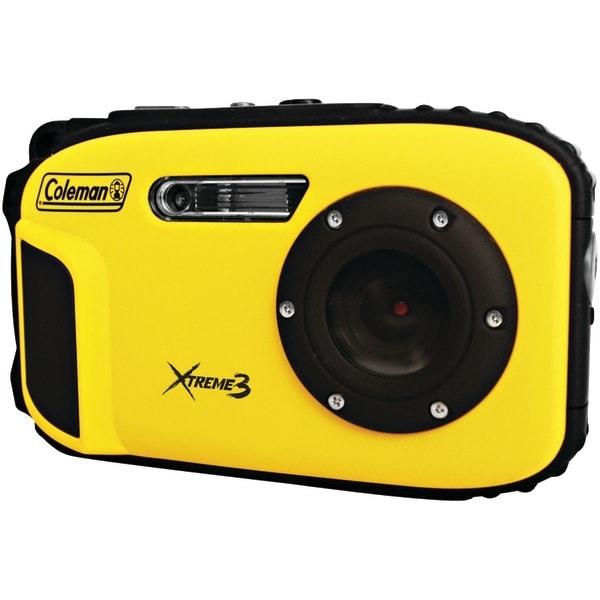 COLEMAN C9WP-Y 20.0-Megapixel Xtreme3 HD Video Waterproof Digital Camera (Yellow)