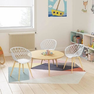 Link to Carson Carrington Varo Mid-century Lightweight Mini Chair (Set of 2) Similar Items in Kids Accent Chairs