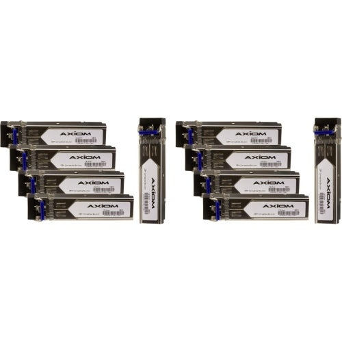 """Axion GLC-LH-SMD-10PK Axiom 1000BASE-LX SFP w/DOM for Cisco (10-Pack) - For Optical Network, Data Networking - 1 x 1000Base-LX"