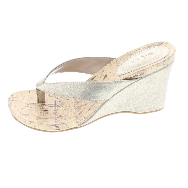 Style & Co. Womens CHICKLET Open Toe Casual Platform Sandals